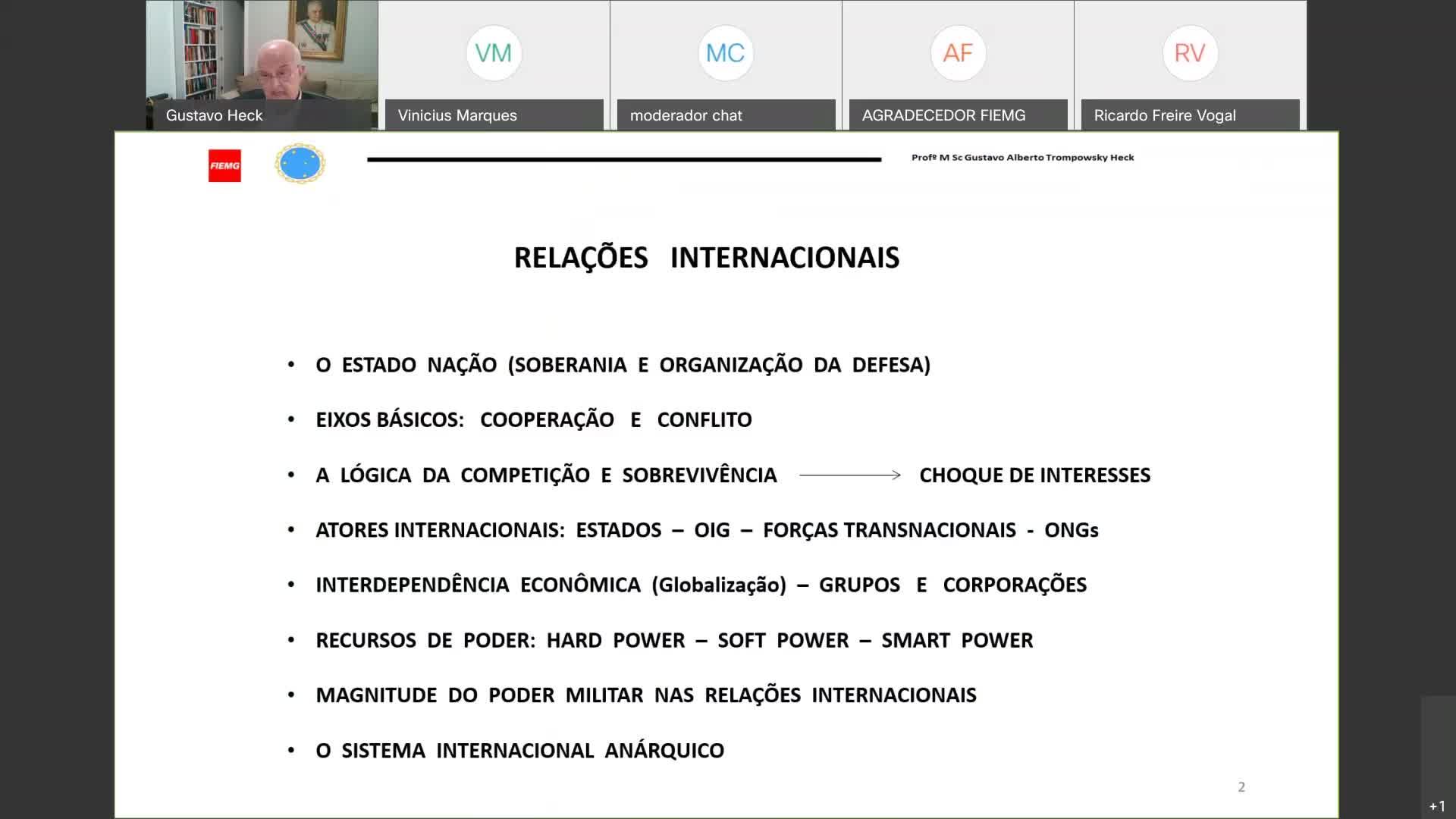 As Relações Internacionais Pós COVID-19 e os Reflexos para o Brasil