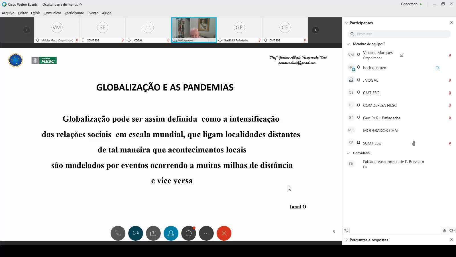 A Geopolítica das Pandemias/Epidemias no Século XXI: seus reflexos na pesquisa e desenvolvimento e efeitos no comportamento humano