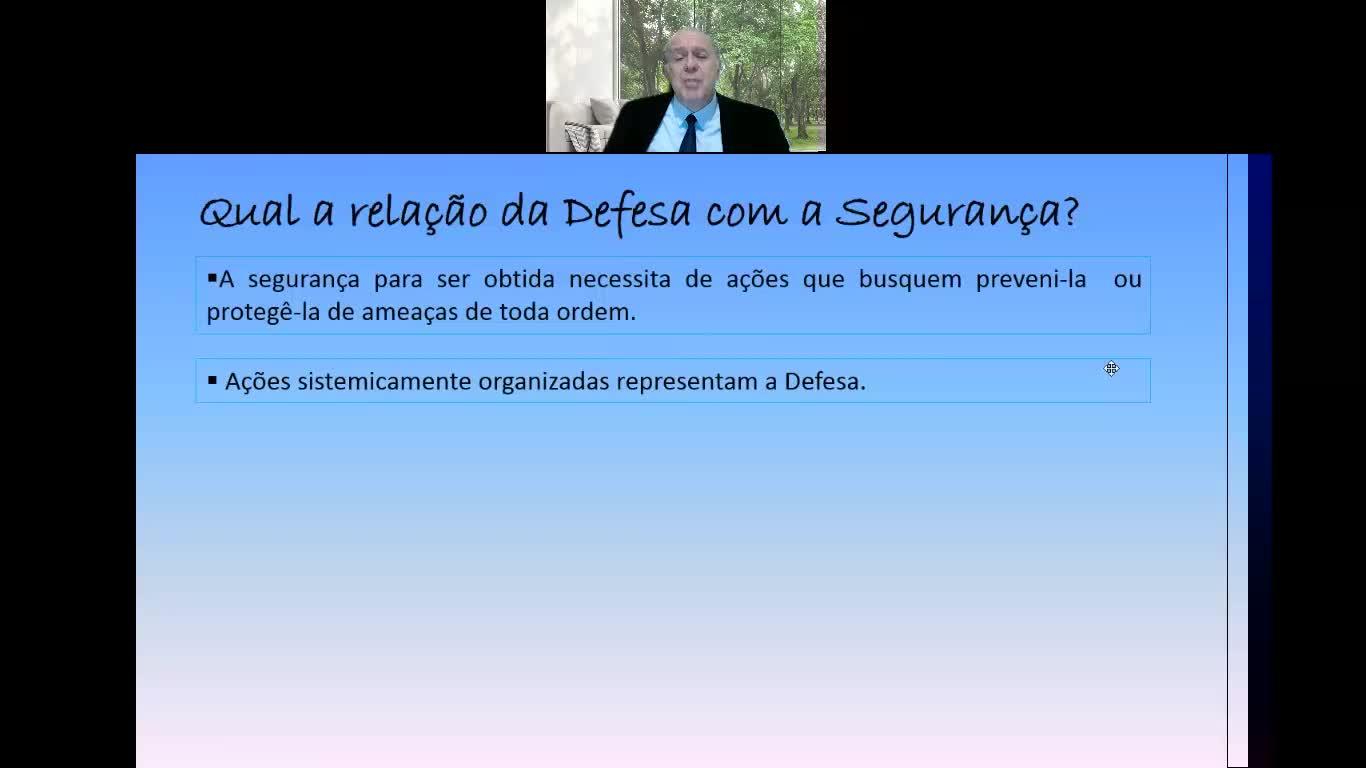 FERNANDO Ramos VIDEO AULA SEGURANÇA E DEFESA NACIONAIS