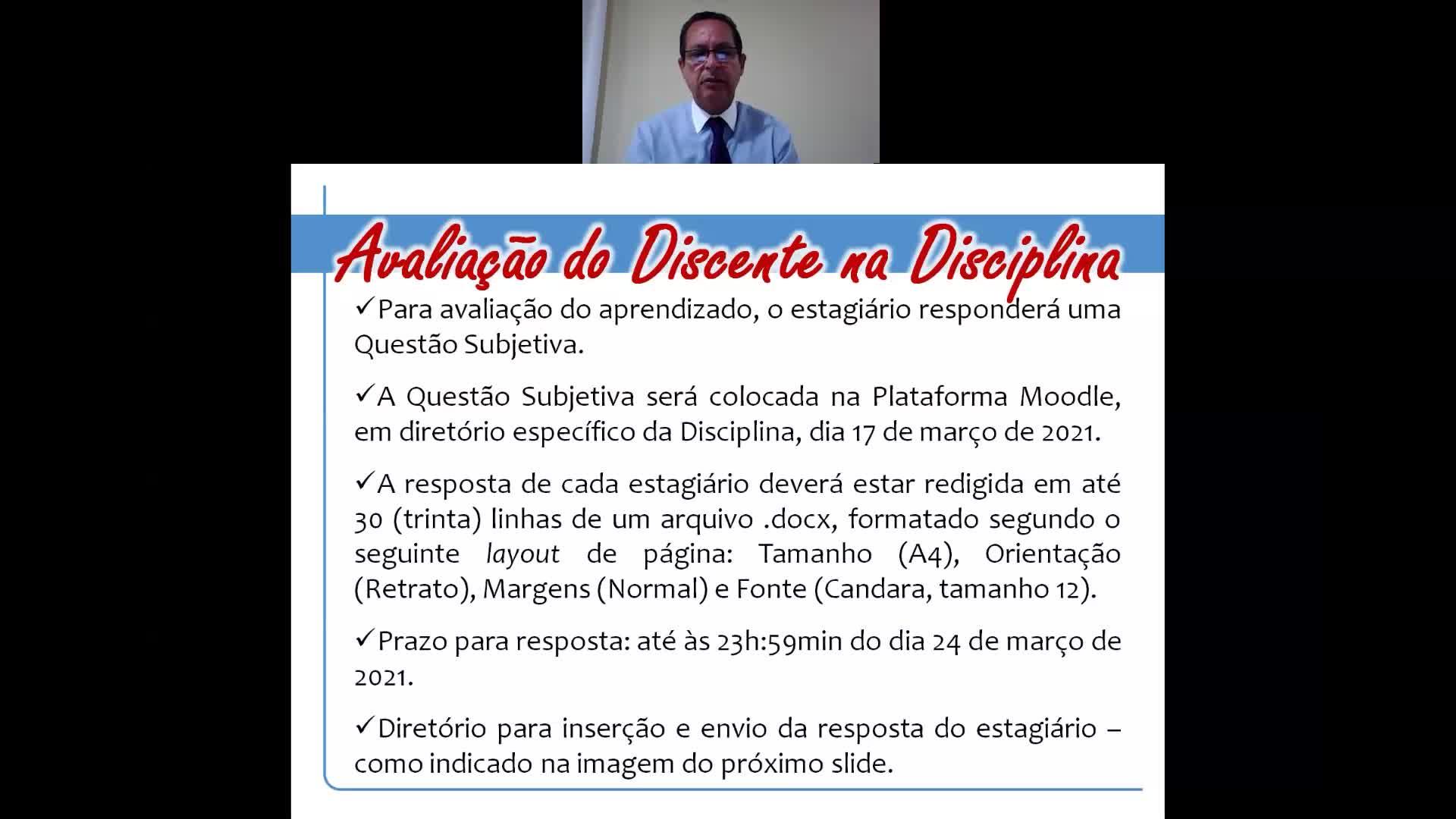 Pereira - Apresentação da Disciplina Poder Nacional - Informações Gerais