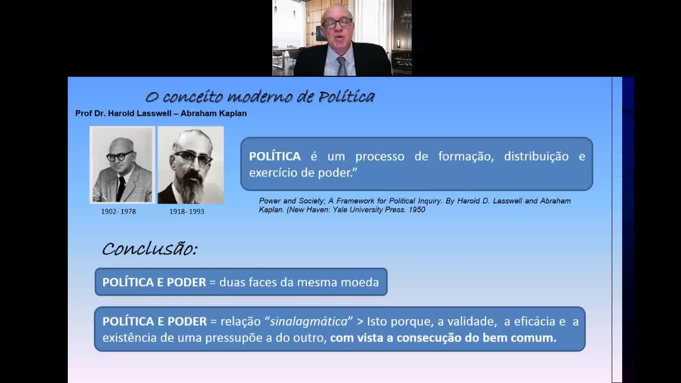 VIDEOAULA - POLÍTICA NACIONAL - CEL FERNANDO RAMOS