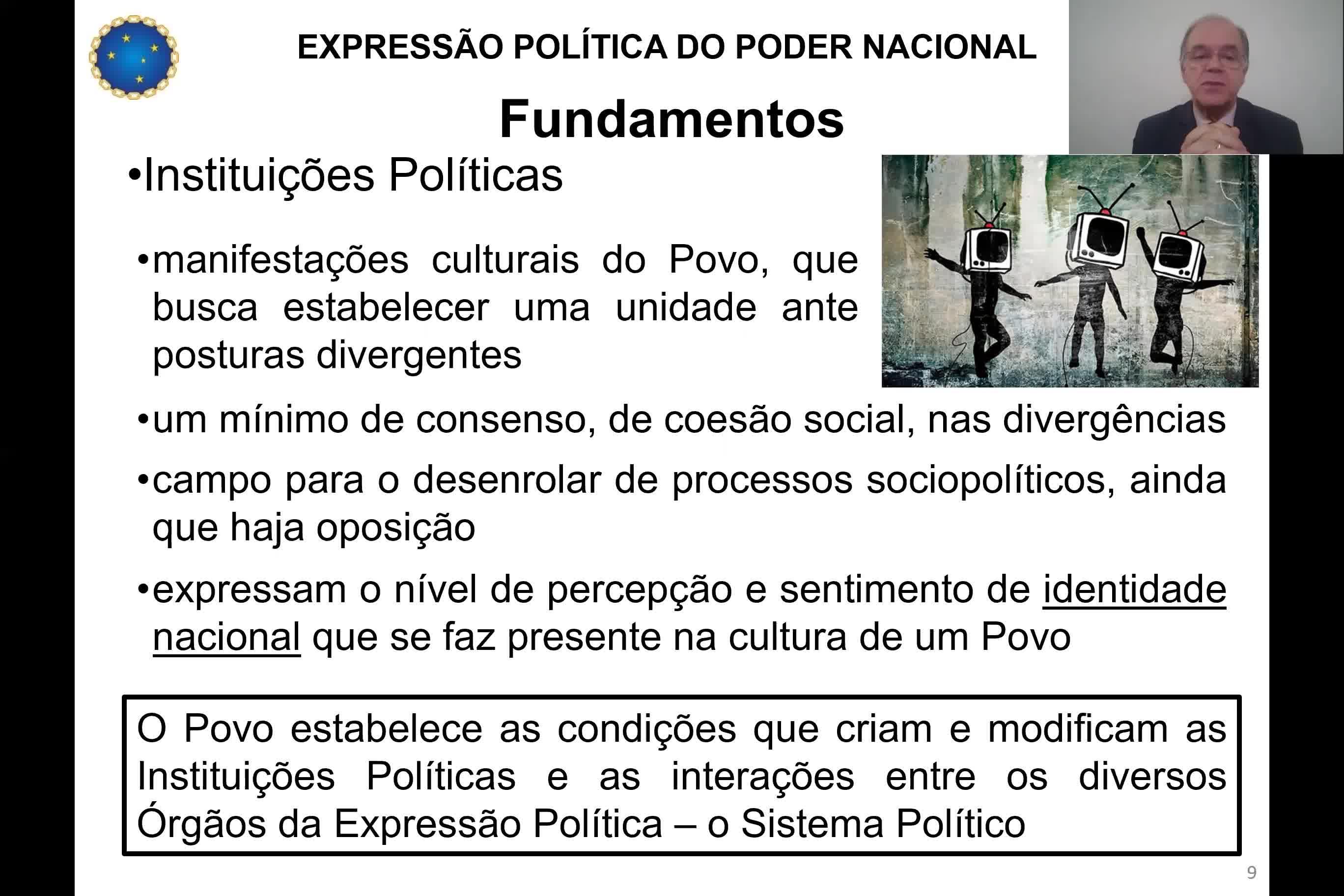 Expressão Política do Poder Nacional - Cel Osvaldo